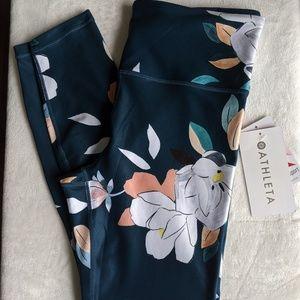 Athleta Floral Elation 7/8 Leggings Yoga Tights 🆕